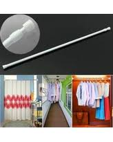 80cm Curtain Pole Spring Curtain Rod 52 To 90inch Adjustable Spring