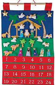 advent calendar nativity fabric advent calendar countdown to