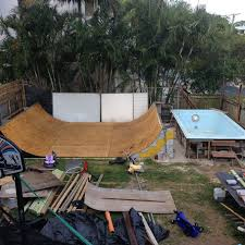Backyard Skate Ramps by How To Build A Skateboard Ramp With Pictures Wikihow