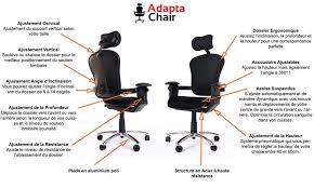 chaise de bureau mal de dos chaise pour le dos à l intérieur fauteuil de bureau ergonomique
