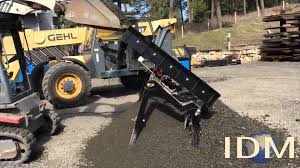 complete introduction to the slg 68v topsoil screener by desite