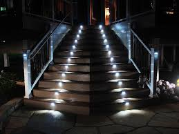 low voltage outdoor stair lighting ideas