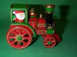 here comes santa hallmark ornaments