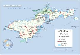 Michigan Area Code Map Map Of Tutuila Island American Samoa Nations Online Project