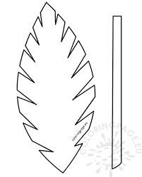 palm leaves for palm sunday easter template palm leaf palm sunday school lesson coloring page