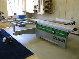 felder table saw price my new sliding panel table saw technical modifications the