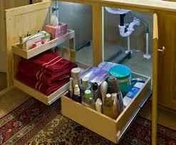 Kitchen Sink Cabinet Tray by Under Sink Cabinet Organizers Home Design Ideas