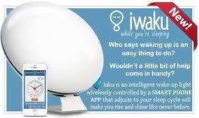 sad light alarm clock iwaku wakeup natural alarm clock light dawn simulator controlled