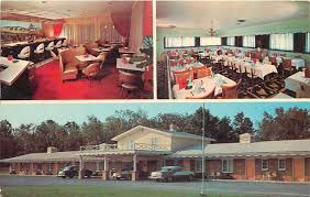 home interior collectibles victor new york exit 45 motel and restaurant inside out nice 1950s
