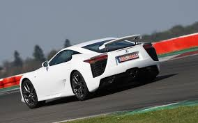 lexus lfa concept feature flick lexus lf lc concept steals show from lfa supercar