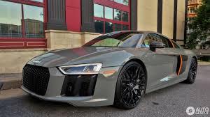 Audi R8 Grey - audi r8 v10 plus 2015 17 may 2017 autogespot