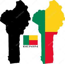Benin Flag Benin Harita Ve Bayrak Vektör U2014 Stok Vektör Liorpt 63736517