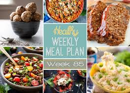 plan it cuisine healthy meal plan week 85 meals healthy recipes and lunches
