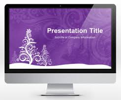 free holiday powerpoint templates