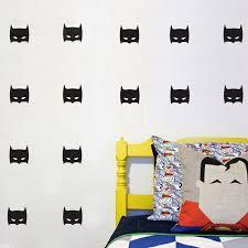 online buy wholesale vinyl batman sticker from china vinyl batman hero wall sticker for boys room art decor super hero batman mask removable vinyl wall
