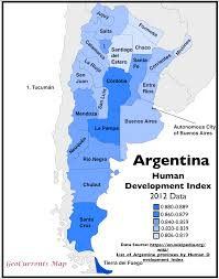 Buenos Aires Map Argentina U0027s Hdi The Wikipedia U0027s Worst Map Geocurrents