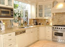 Up To Date Kitchen Color Schemes Ideashome Design Styling Up To Date Kitchenswith Cream Amusing Cream Kitchen Cabinet Doors