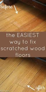 how to fix scratched hardwood floors in no shallow
