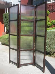 outdoor glass room partitions mixed topiary garden elegant homes