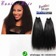 pictures if braids with yaki hair heat resistant crochet braids hair yaki style kinky straight 18