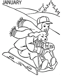 good winter coloring pages free 29 coloring print