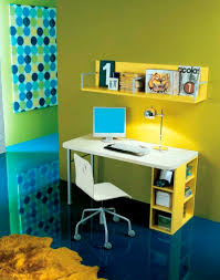 Poster Frame Ideas Kids Bedroom Exciting Yellow Walls Painting With Blue Dots Poster