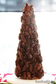diy pinecone tree pine cone holiday crafts