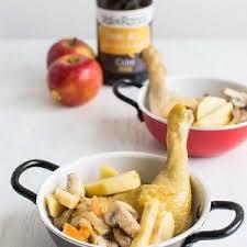 cuisine recette poulet recette de poulet vallée d auge au cidre et au calvados stella