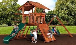 Playground Ideas For Backyard Backyard Playground Equipments Modern Home Design Gallery Outdoor