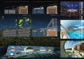 gallery of yongjia gymnasium swimming pool competition idea
