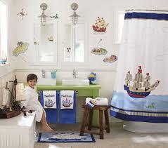 bathroom kids bathroom decor with nice blue wall paint kids
