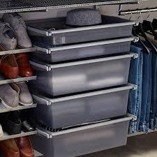 platinum elfa reach in closet the container store