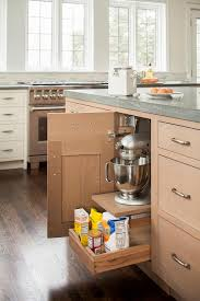 wire brushed oak cabinets design ideas