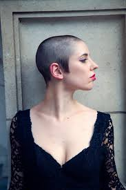 beautiful women hairstyle with sideburns interesting sideburns on this short buzz cut buzz cut women