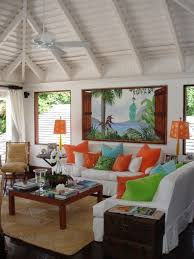 tropical colors for home interior bright tropical house interior the bird of paradise