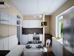 White Kitchen Cabinets With Tile Floor Dazzling Small Kitchen Design With Large Silver Refrigerator And