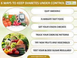 15 Efficient Ways To Keep Diabetes Under Control Organic Facts