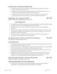 resume for board of directors board of directors resume example
