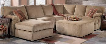 Leather Apartment Sofa 20 Collection Of Sectional With Ottoman And Chaise Sofa Ideas