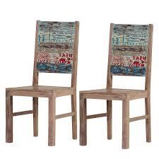Esszimmerstuhl Wenge Stuhl 2er Set Buche Grau Gebeizt Woody 167 00118 Holz Modern Jetzt