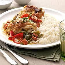 cuisine poulet basquaise recette poulet basquaise cahier de cuisine