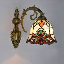 Tiffany Sconces Chic Small Downlight Tiffany Wall Sconces For Entryway