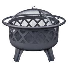 home depot black friday spring grill hampton bay crossfire 29 50 in steel fire pit with cooking grate