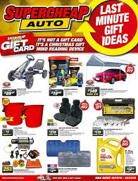 supercheap auto last minute gift ideas catalogue 16 12 15 u2013 23 12 15
