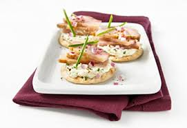 canap au fromage recipe smoked sturgeon and cheese canapés saq com
