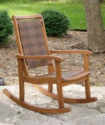 Garden Treasures Patio Chairs Rocking Chair Design Garden Treasures Natural Wood Porch Rocker