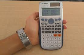 how to setup casio scientific calc to get answer in decimal points