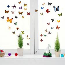 Butterfly Home Decor Accessories New Plenty Beautiful Butterfly Wall Stickers Home Party Decoration