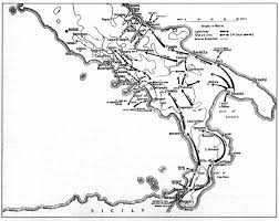 Calabria Italy Map by Engagements Fought By The 4th Armoured Brigade In 1943