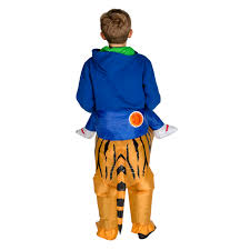 children u0027s inflatable tiger t rex costume